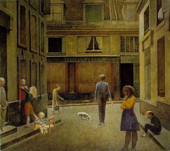 Le passage du Commerce Saint-André (1952-1954) par Balthus