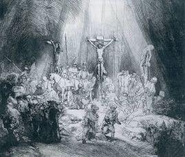 Les trois croix (1653)«C'est parce qu'il n'imite pas la lumière, qu'il trouve la sienne.»  André Malraux