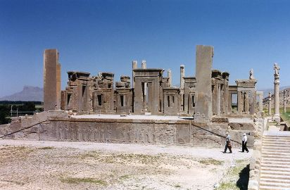 Le palais de Darius