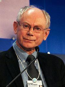 Le président du conseil européen Herman von Rompuy