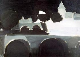 Le Pont Saint-Michel la nuit (1954), Collection particulière