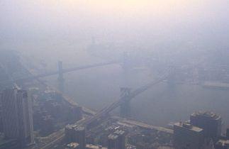 Cas de smog au-dessus de New York