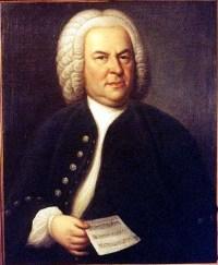 Portrait de Jean-Sébastien Bach, 1748 par Elias Gottlaub Haussmann
