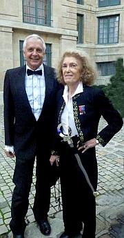 Phillippe Tournaire et Mireille Delmas-Marty, Institut de France