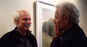 Yann Arthus-Bertrand et Jacques Rougerie, le 22 octobre 2010, Institut de France