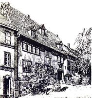 La «Maison Bach», musée consacré au compositeur dans sa ville natale d'Eisenach