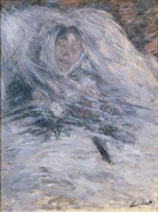 Camille Monet sur son lit de mort, 1879, musée d'Orsay