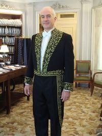 Franciscus Verellen, directeur de l'EFEO et membre de l'Académie des inscriptions et belles-lettres
