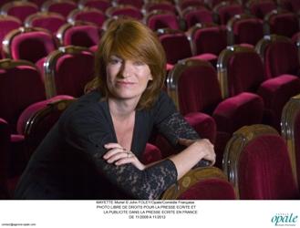 Muriel Mayette, administrateur de la Comédie française