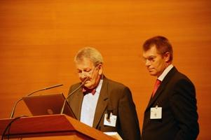 Olivier Lyon-Caen et Etienne Hirsch (de gauche à droite)
