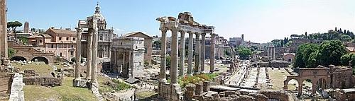 Rome, ruines du Forum impérial