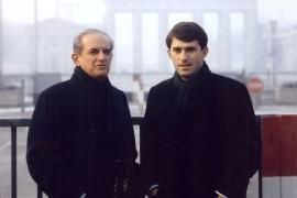 Alain Peyrefitte en compagnie de son fils Benoit, invité de cette émission
