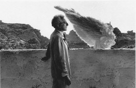 Un académicien photographié par un autre académicien: Lucien Clergue