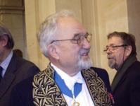 Jean Dercourt secrétaire perpétuel de l'Académie des sciences