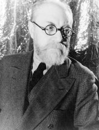 Henri Matisse le 20 mai 1933, photographié par Carl van Vechten.