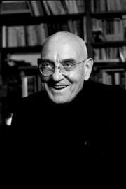 Max Gallo, par le photographe Louis Monier