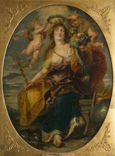 Pierre Paul Rubens, Allégorie du Bon Gouvernement, vers 1625, Dépôt du Musée du Louvre au Musée du château de Blois, 1956  © Cliché François Lauginie\/Château de Blois