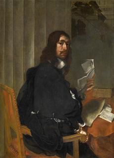 Bertholet FLemal, Portrait de Jean Valdor, vers 1660, Collection Albert Vandervelden, Liège, © Hugo Maertens