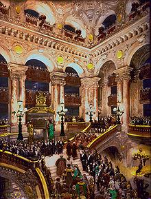 L'inauguration du Palais Garnier en 1875