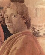 Alessandro di Mariano di Vanni Filipepi, dit Sandro Botticelli, est né entre le 1er mars 1444 et le 1er mars 1445 dans le quartier d'Ognissanti à Florence, où son père était tanneur. Il meurt en mai 1510 dans la maison de la Via della Porcellenna où il a travaillé toute sa vie