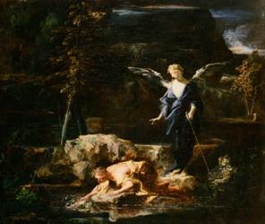 Louis Cretey: Tobie et l'ange, © Tours, musée des Beaux-Arts