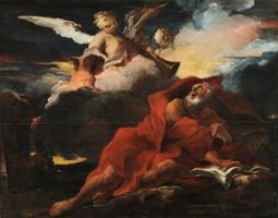 Louis Cretey, La vision de Saint Jérôme, Lyon, musée des Beaux-Arts