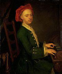 Le jeune Haendel au clavier