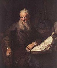 L'apôtre Paul, peinture de Rembrandt (1635)