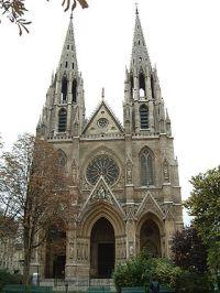 La basilique Sainte-Clotilde-et-Sainte-Valère est une église située dans le 7e arrondissement de Paris