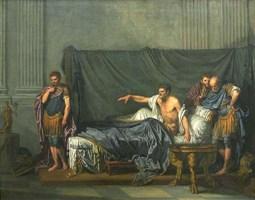 Jean-Baptiste Greuze, Septime Sévère et Caracalla, 1769, Paris, musée du Louvre, département des Sculptures © RMN \/René-Gabriel Ojéda