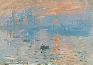Claude Monet, Impression, Soleil levant, 1873 – Huile sur toile, 48 x 63 cm Musée Marmottan Monet, Paris Inv. 4014