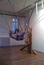 Sculptures de Fabienne Teyssier-Monnot, exposition janvier 2011 Maison du Citoyen et de la vie associative de Fontenay-sous-Bois