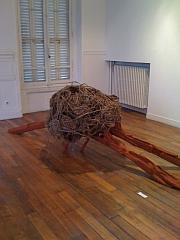 """""""Nébuleuse"""", Sculpture de Fabienne Teyssier-Monnot, exposition janvier 2011 Maison du Citoyen et de la vie associative de Fontenay-sous-Bois"""