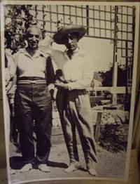 André Maurois et Jean Cocteau