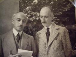 André Maurois et François Mauriac