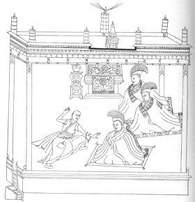 «Controverse-examen dans la cour (chos-sa)».