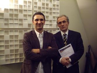 Ali Laïdi et Yves Marie Moray