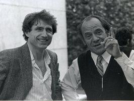 Jacques Prost et Etienne Guyon (de gauche à droite) en 1988
