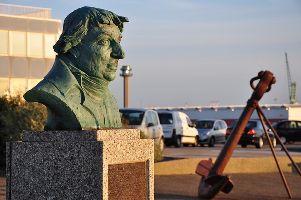 Buste de Nicolas Baudin au Havre