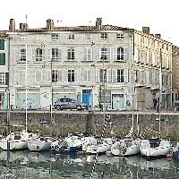 Maison familiale de Nicolas Baudin sur le port de Saint-Martin-de-Ré - Île de Ré
