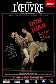 """""""Don Juan"""" au Théâtre de l'Oeuvre, dans une mise en scène de Jean-Michel Vier"""