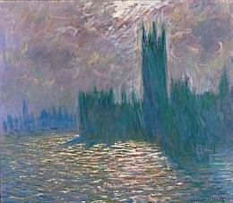 Claude Monet, Londres. Le Parlement. Reflets sur la Tamise, 1905 – Huile sur toile, 81.5 x 92 cm
