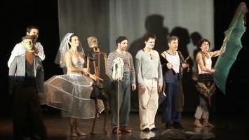 """La troupe """"Liba Théâtre"""" interprête """"Don Juan"""" de Bertold Brecht"""
