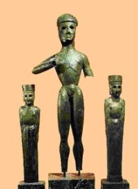 Trois statuettes dites «Triade de Dréros»