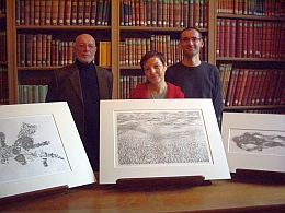Gravures de la collection du Cabinet d'estampes contemporaines de la Bibliothèque de l'Institut de France, 9 février 2011