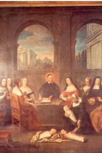 Saint Vincent de Paul et les dames de la Charité