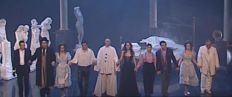 """""""Dom Juan ou le festin de pierre"""" de Molière mis en scène par Daniel Mesguich"""