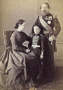 La famille impériale en 1865
