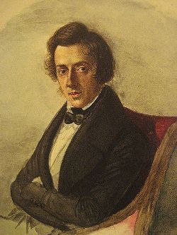 Chopin, par Maria Wodzińska, 1835.
