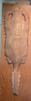 Le galuchat, nom de l'inventeur, mort en 1774 est un cuir de poisson cartilagineux (de raie ou de requin) utilisé depuis longtemps en ébénisterie, gainerie, et plus récemment en maroquinerie
